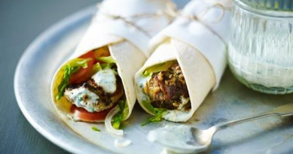 Wraps, Recipes and Anjum anand on Pinterest