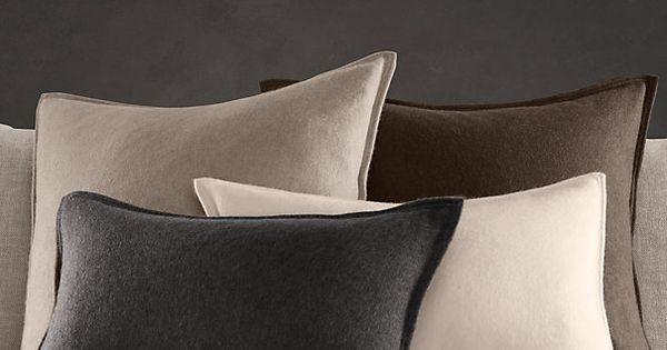 Decorative Pillows Restoration Hardware : Cashmere Pillow Covers from Restoration Hardware Home Decor: Interior and Exterior Pinterest ...