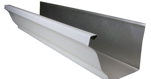 Types Of Gutters And Costs Diy Gutters Gutters Seamless Gutters