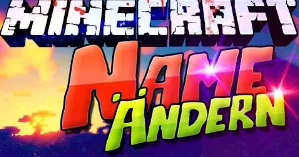 MINECRAFT NAME ÄNDERN Wechseln Tutorial Windows Mac - Minecraft namen andern 1 8 tutorial