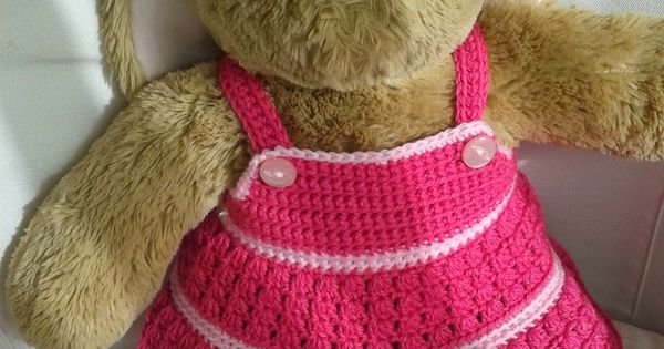 Crochet dress for Build-a-Bear - free pattern Build-A ...
