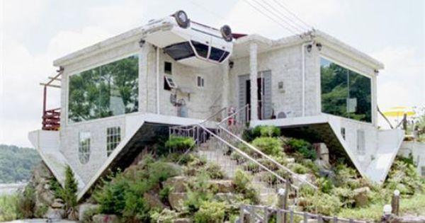 upsidedown house- south korea