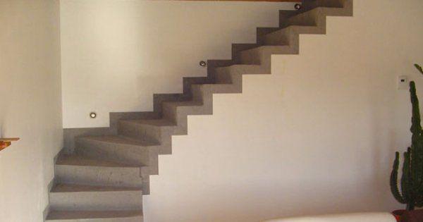 Appliquer Du Beton Cire Sur Un Escalier Escalier Beton Cire