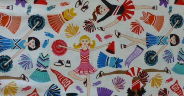Cotton Fabric Quilt Clothing Cheerleading Sports Fabric
