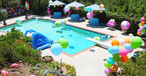 Kid Pool Party Ideas swimming party for children Kids Pool Party Theme Pool Party Pinterest Kid Pool Parties