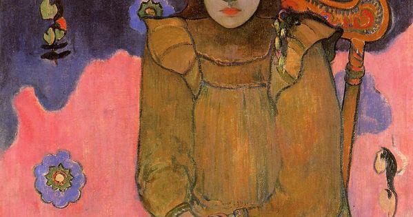Portrait of a Young Woman, Vaite (Jeanne) Goupil - Paul Gauguin