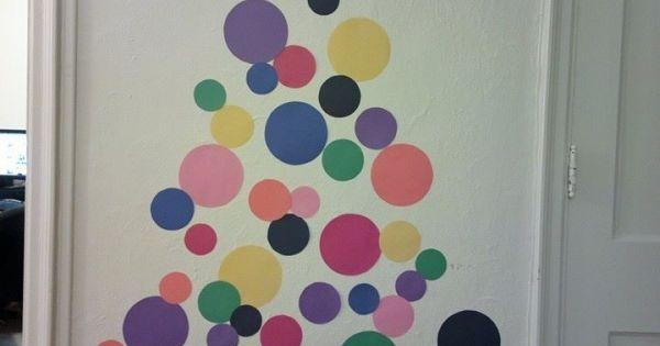 Arbol de navidad mural de papel by wylene navidad - Murales decorativos de navidad ...