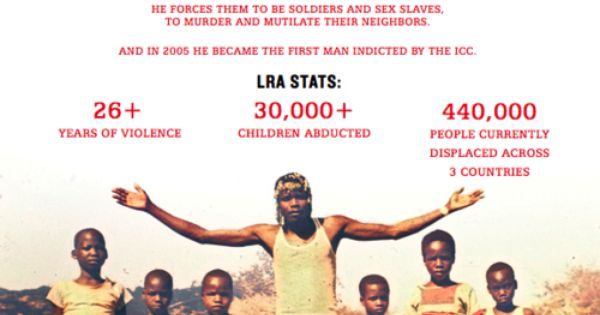 Join together in 2012 to stop Kony and the human rights violations