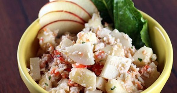 Hearts of palm salad, Hearts of palms and Crab apples on Pinterest