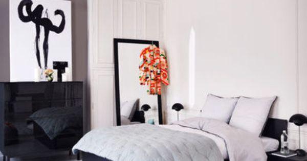 Marier les couleurs dans la chambre linge de lit tapis for Marier couleurs peinture murale