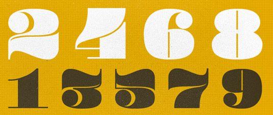 45 Free Retro Fonts Retro Font Vintage Fonts Best Number Fonts