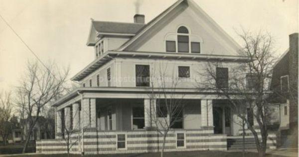 York Nebraska F P Vanwickle Residence C1915 House Rppc Photo