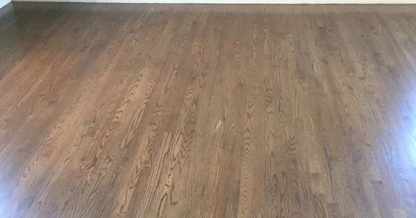 Our Finished Wood Floors Created Stain Using