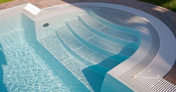 schwimmbad schwimmbad treppe mit berlaufrinne hier geht es zum vollst ndigen artikel http. Black Bedroom Furniture Sets. Home Design Ideas