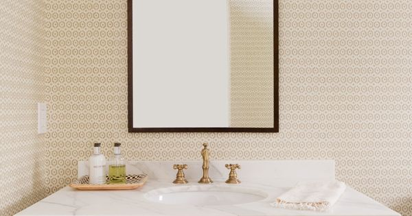 wisteria wallpaper bathroom - photo #26