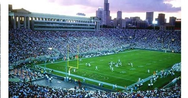 Old Soldier Field History Photos More Of The Former Nfl Stadium Of The Chicago Bears Soldier Field Nfl Stadiums Chicago Bears