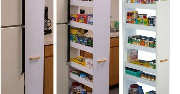 10 creative ways to store items and make more living space - Pantry solutions for small spaces collection ...