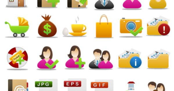 Free Pretty Office Icons Part 4 Which Rendered At 256x256 128x128 64x64 48x48 32x32 16x16 Pixels And Format Are Png Ico And Icns