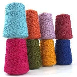 Axminster Coned Rug Wool Yarn