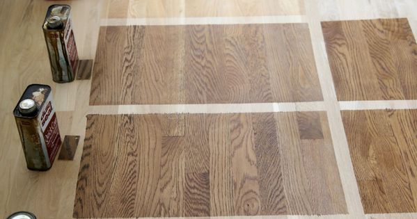Choosing Hardwood Floor Stains Minwax Weather And Note