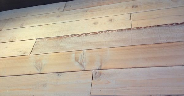Color Stain Cedar Wall Board Rough Cedar Planks With White Stain On Wall At