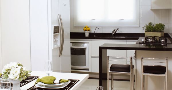 Cozinhas planejadas pequenas fotos decoracion cocina for Cocinas pequenas para departamentos