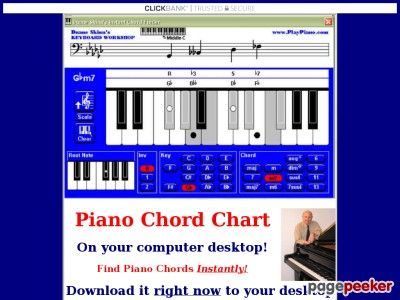 Piano chords -- keyboard chords -- the amazing