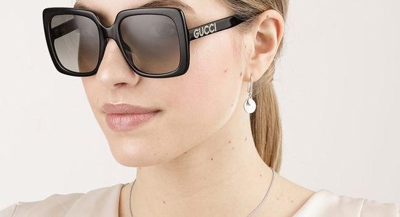 Gucci Gg0418s 001 Black Oversized Sunglasses Sunglasses Sunglasses Women Oversized Gucci Sunglasses Women