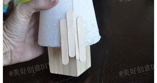 Craft stick tree