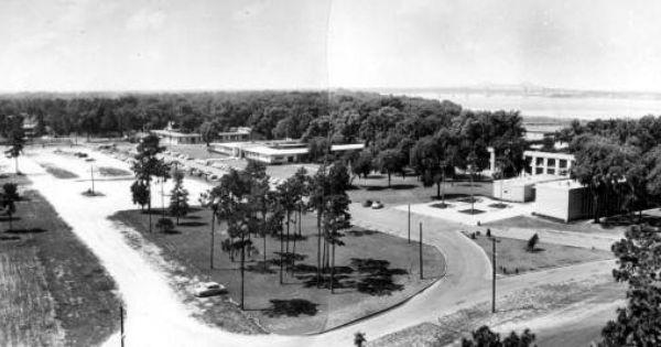 Birds Eye View Of The Jacksonville University Campus 1961 It S