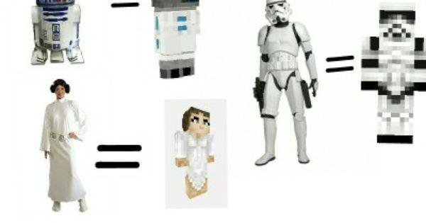 Star wars minecraft skins! | Star Wars Minecraft skins ...