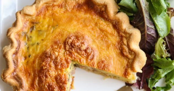 Ham quiche fried mushrooms and quiche on pinterest