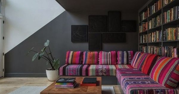Home a colorful brooklyn abode aphrochic design for A la mode salon brooklyn