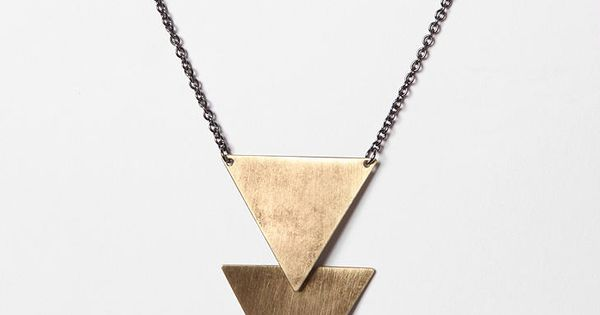 Geometric = amazers. style fashion girls womens hipster stylish geometric brass jewelry