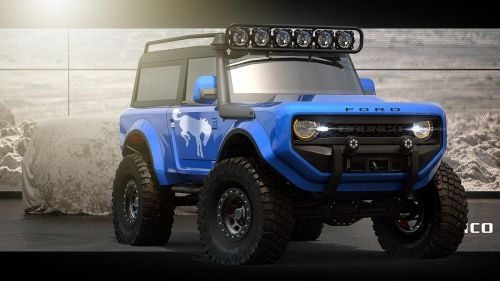 2020 Ford Bronco Imagined As A Go Everywhere 4x4 Ford Bronco Concept Bronco Concept Ford Bronco