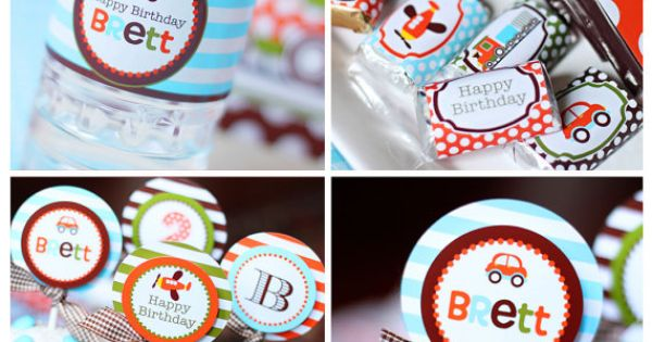 party printables - cute party idea!! Maybe for V's 2nd