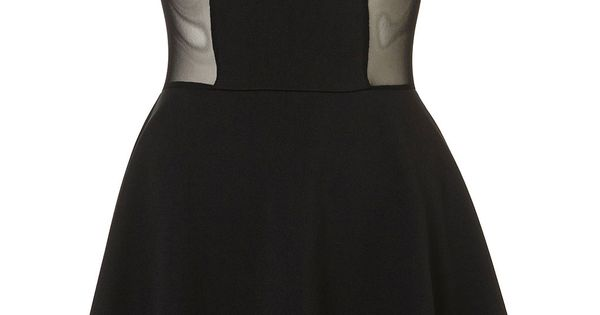 Bodice Skater Dress by Dress Up TopShop .