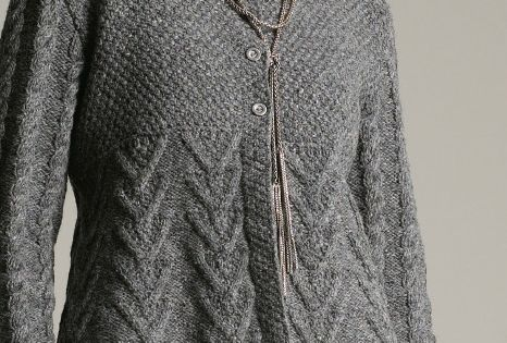 Rowan Textured Cardigan - free pattern - Dianas Knitting Patterns Pint...