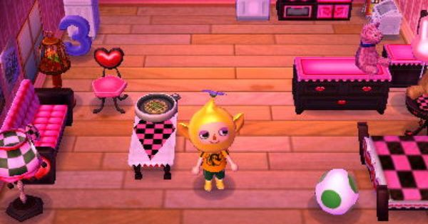 Hni 0070 Animal Crossing 3ds Pink Animals Animal Crossing
