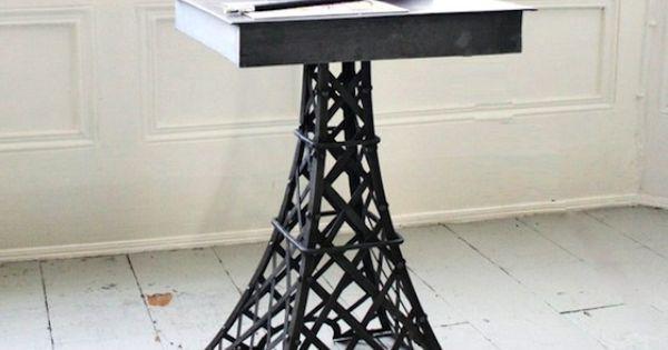 Eiffel tower table 350 torre eiffel decoracion cuarto for Decoracion de interiores paris