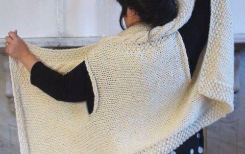 Belinda Harris-Reid design collection - BELLA WRAP, wrap-around jacket cardig...