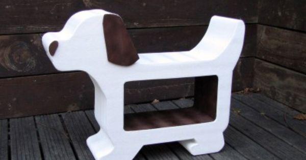 Meuble en carton pour enfant chien en carton pour for Construire meuble en carton