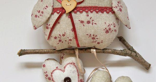 Gliniany garnek jesienne sowy naaien pinterest pots - Tenture chambre bebe ...