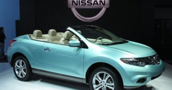 2010 2011 Los Angeles Auto Show Photo Gallery Nissan Murano 2011 Nissan Murano Nissan Murano Convertible