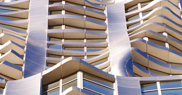 #New York by Gehry - Frank Gehry architecture facade