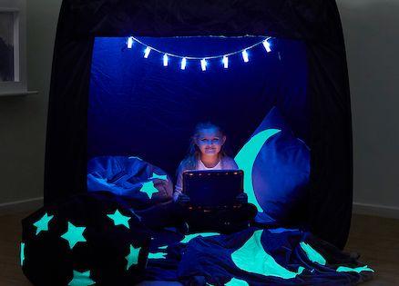 Pop Up Sensory Dark Den Cube Tent sensory safe space for the home 120cm square