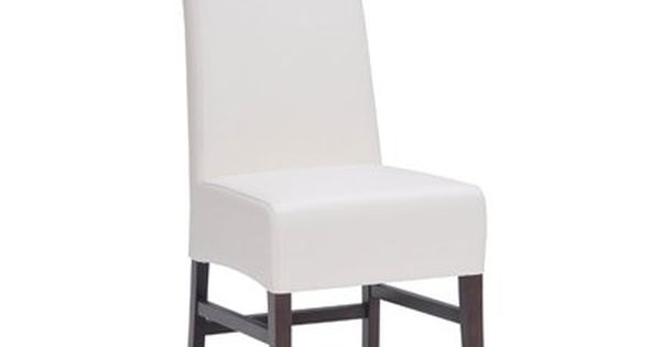 Sunpan Modern Home 2976 Habitat Dining Chair Set Of 2 Leather