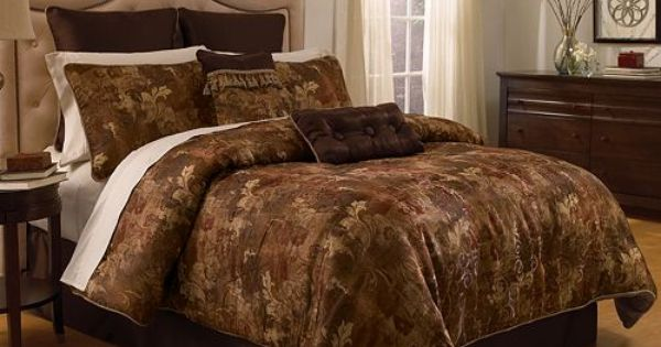 Chapel Hill By Croscill Hastings Antique 4 Pc Comforter Set King Master Bedroom Pinterest