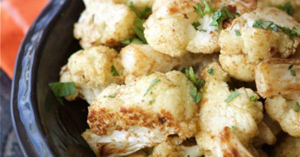 Roasted cauliflower, Cauliflowers and Indian on Pinterest