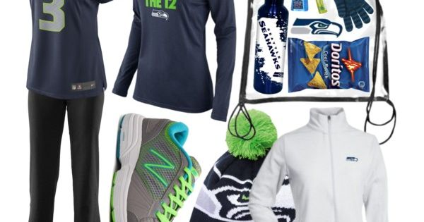 """Seahawks Gameday Essentials"" by themodestcloset on Polyvore seahawks maybe next year!!"